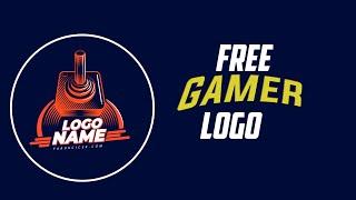 Retro Free Logo Psd | Ücretsiz Oyuncu Logo Dosyası