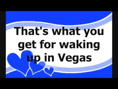Katy Perry - Waking Up In Vegas (Lyrics On Screen + Download Link) HQ