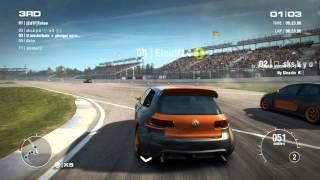 GRID 2 PC Multiplayer Gameplay: Tier 2 Volkswagen Golf R (Performance) Peak Performance Pack DLC