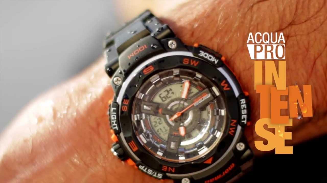 Relógios Mormaii 2014   Acqua Pro Intense - YouTube 53bab35df2