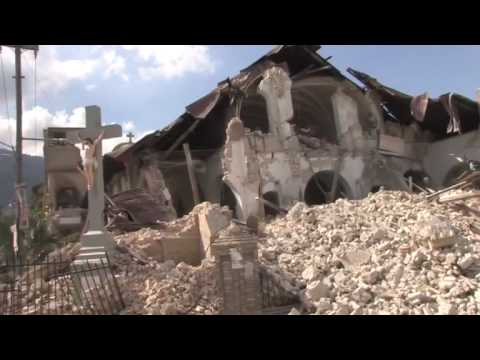 The aftermath of the earthquake in Haiti