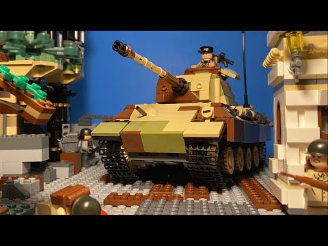 Lego WW2 - Battle Of Aachen - Stopmotion Animation