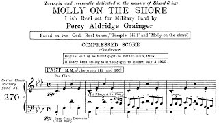 Percy Grainger - Molly on the Shore (1907/1920)
