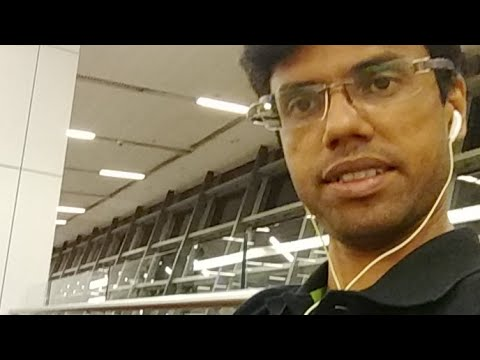Live from Delhi Airport
