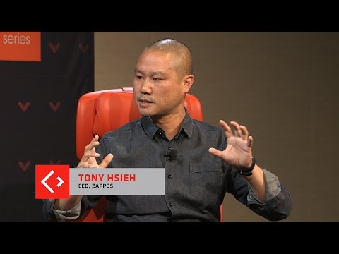 Tony Hsieh explains why he sold Zappos and what he thinks of Amazon.