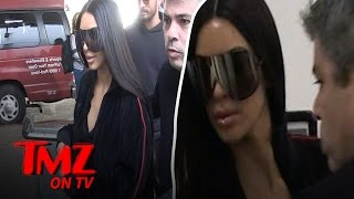 Kim Kardashian Lasers on a Plane?! | TMZ TV