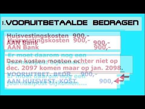 [] Transistorische posten 1 - Vooruitbetaalde kosten (BKB uitleg)