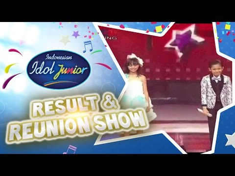 RESULT - RESULT AND REUNION - Indonesian Idol Junior 2