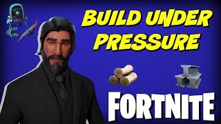 How To Build Under Pressure | Fortnite Tips #1