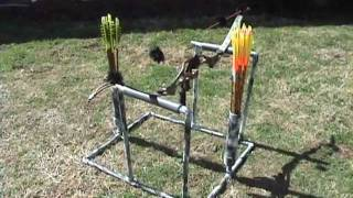 D.i.y. Bow & Arrow Stand