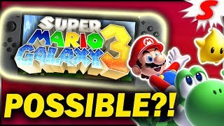 Is Super Mario Galaxy 3 Still Possible?! Nintendo Switch Release?