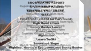 Killington TV Weather Report for Killington Resort-Brrrrrr!!!!