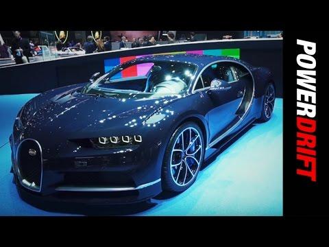 Bugatti Chiron : Geneva Motor Show : PowerDrift