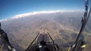 Paragliding in Nepal - January 2015