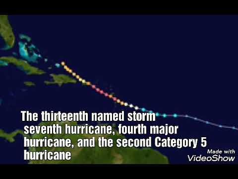 Hurricane Maria 2017 - Meteorological history