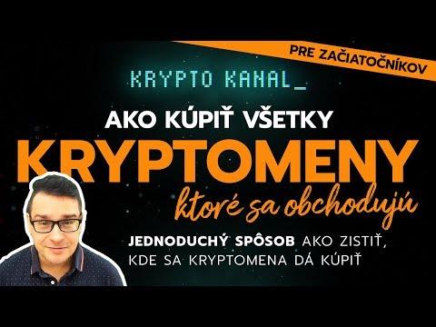 Ako Kúpiť Všetky Kryptomeny?