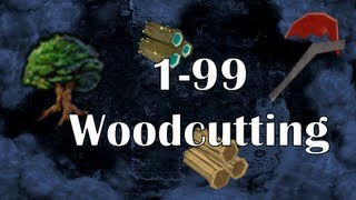 RS07: 1-99 Woodcutting Guide | Fastest Training Methods on Old School RS2007 | Wc 07 by Idk Whats Rc