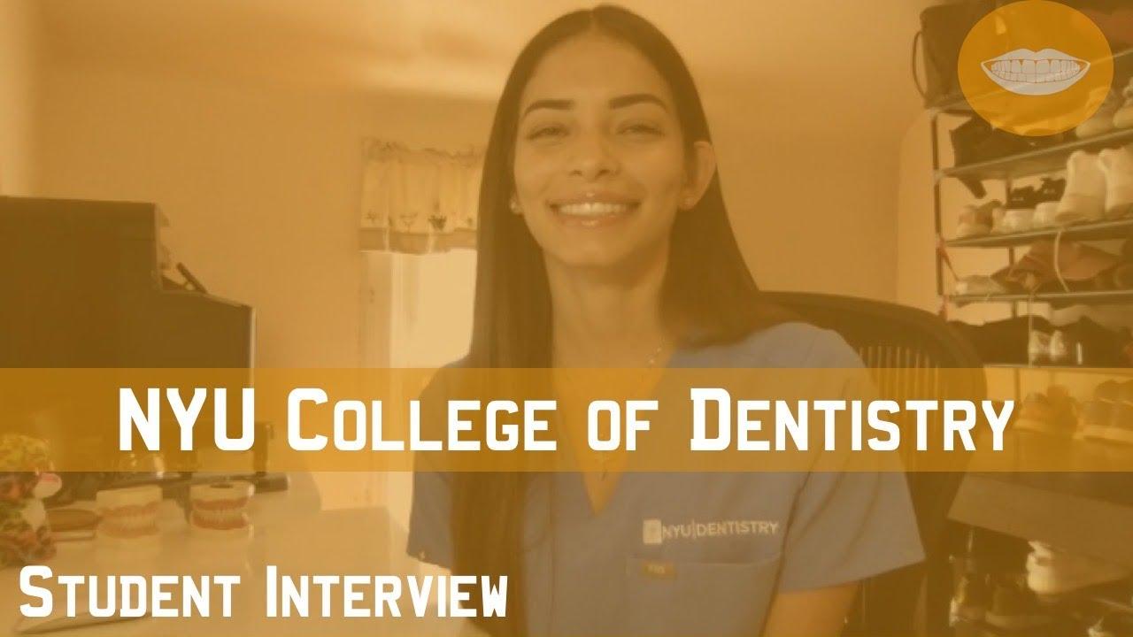 New York University College of Dentistry Student Interview || FutureDDS