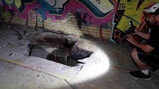 We Found A Secret Underground Tunnel | OmarGoshTV