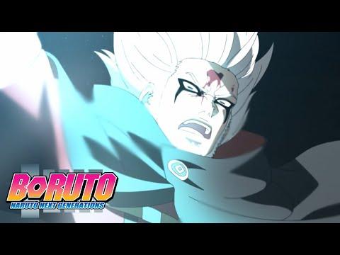Kashin Koji vs Isshiki   Boruto: Naruto Next Generations