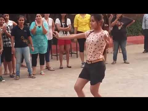 IIT KANPUR  GIRL DANCE PERFORMANCE 2017