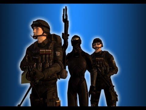 Fallout New Vegas Mods: Enclave Commander - Marine Edition