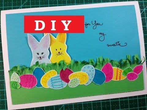 Cartão de Páscoa - (Easter Card)