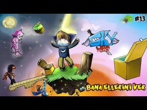 BANA ELLERİNİ VER - Sky Wars - Minecraft Gökyüzü Savaşları