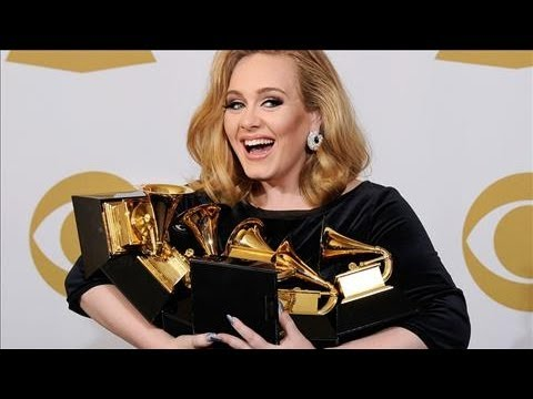 Adele is Big Winner at the Grammys