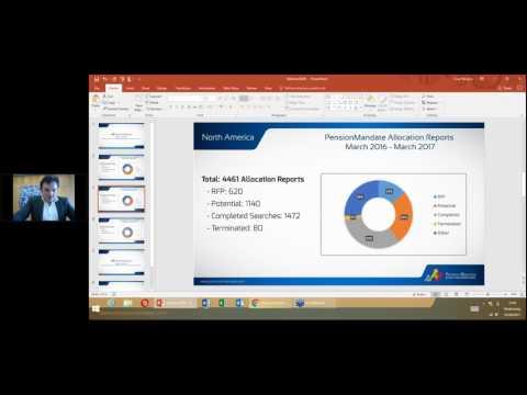Webinar - Investment Mandates - Sales Leads Regarding North American and European Investors