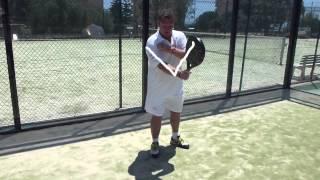 Padel v Tennis Forehand