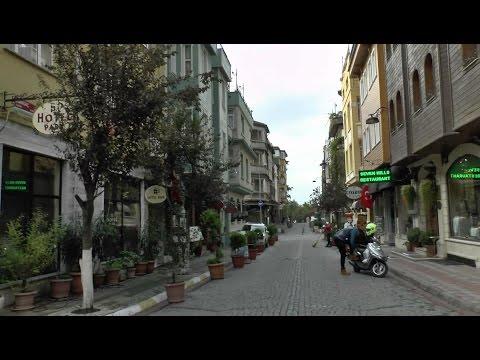 Walk around Istanbul.