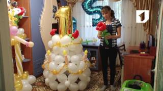 видео Воздушные шары на девичник