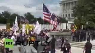 В США наступила «американская весна»