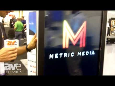 CEDIA 2016: Metric Media Features Touch Enabled Commercial Kiosk
