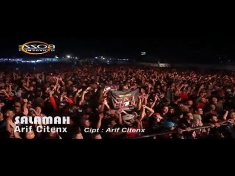 ARIF CITENX - SALAMAH [ OFFICIAL KARAOKE MUSIC VIDEO LIVE BALI ]
