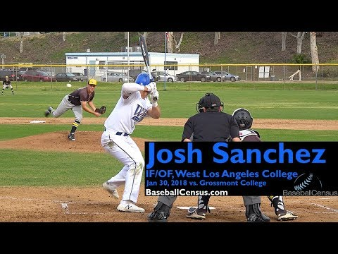 Josh Sanchez, IF/OF, West Los Angeles College