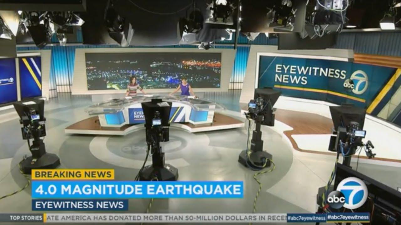 A 4.3 magnitude earthquake rattles Southern California