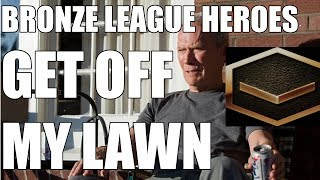 BRONZE LEAGUE HEROES #96  | OFF MY LAWN - Fanky v Boanaan