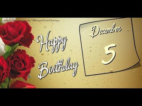 5 December New Happy Birthday Status Video | Happy Birthday STATUS |