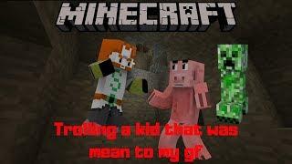 TROLLING A KID ON MC | MINECRAFT TROLLING (#2)