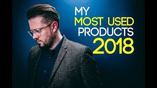 My Most Used Hair Products of 2018 l Men