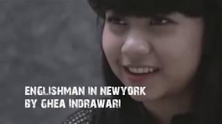 ENGLISHMAN IN NEW YORK cover GHEA INDRAWARI INDONESIAN IDOL 2018