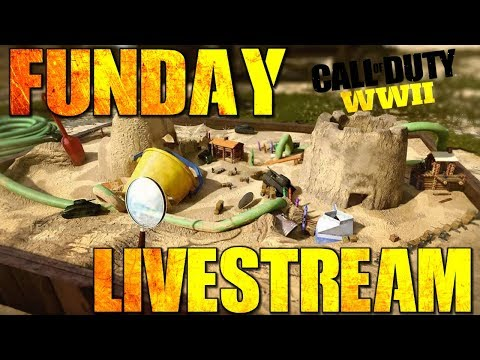 Montag = Auch Funday xD || WW2 Live || - || PC 60 FPS ||  Call of Duty Black WW2 - Live ||