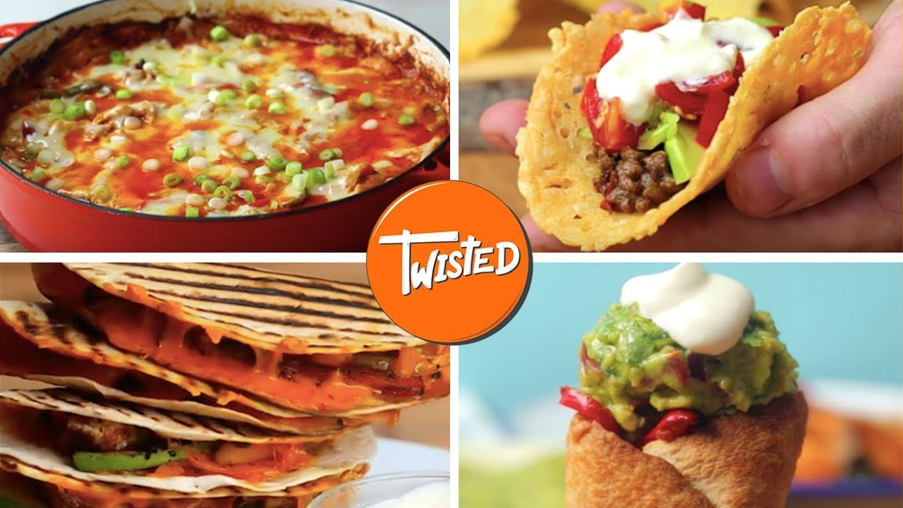 12 Recipes For A Perfect Mexican Dinner Youtube