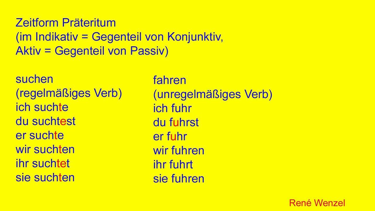 Dfm 61 Deutsch Zeitformen Youtube