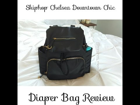 Skiphop Chelsea Downtown Chic diaper bag review♡