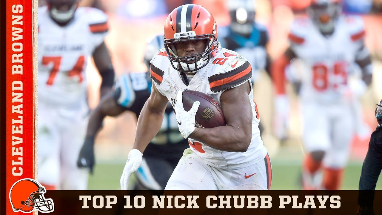 457d3e655 Top 10 Nick Chubb Plays from 2018