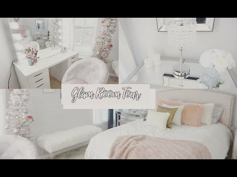 GLAM ROOM TOUR | Impressions Vanity | Millennial Pink