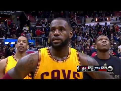 LeBron James hits incredible 3 and no one can believe it! (Cavs vs Wizards)